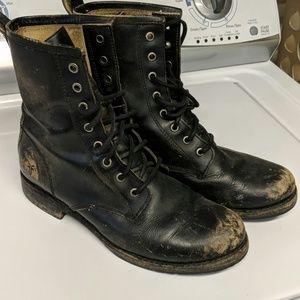 Frye women's Veronica Combat Boots 8.5
